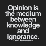 Best Knowledge And Ignorance Quotes image