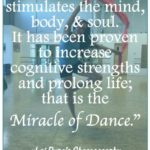 Short Dance Quotes 3 and Sayings with Images